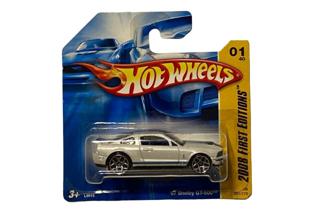 Hot Wheels ´07 Shelby Gt-500 2008 First Editions  - Game Land Brinquedos