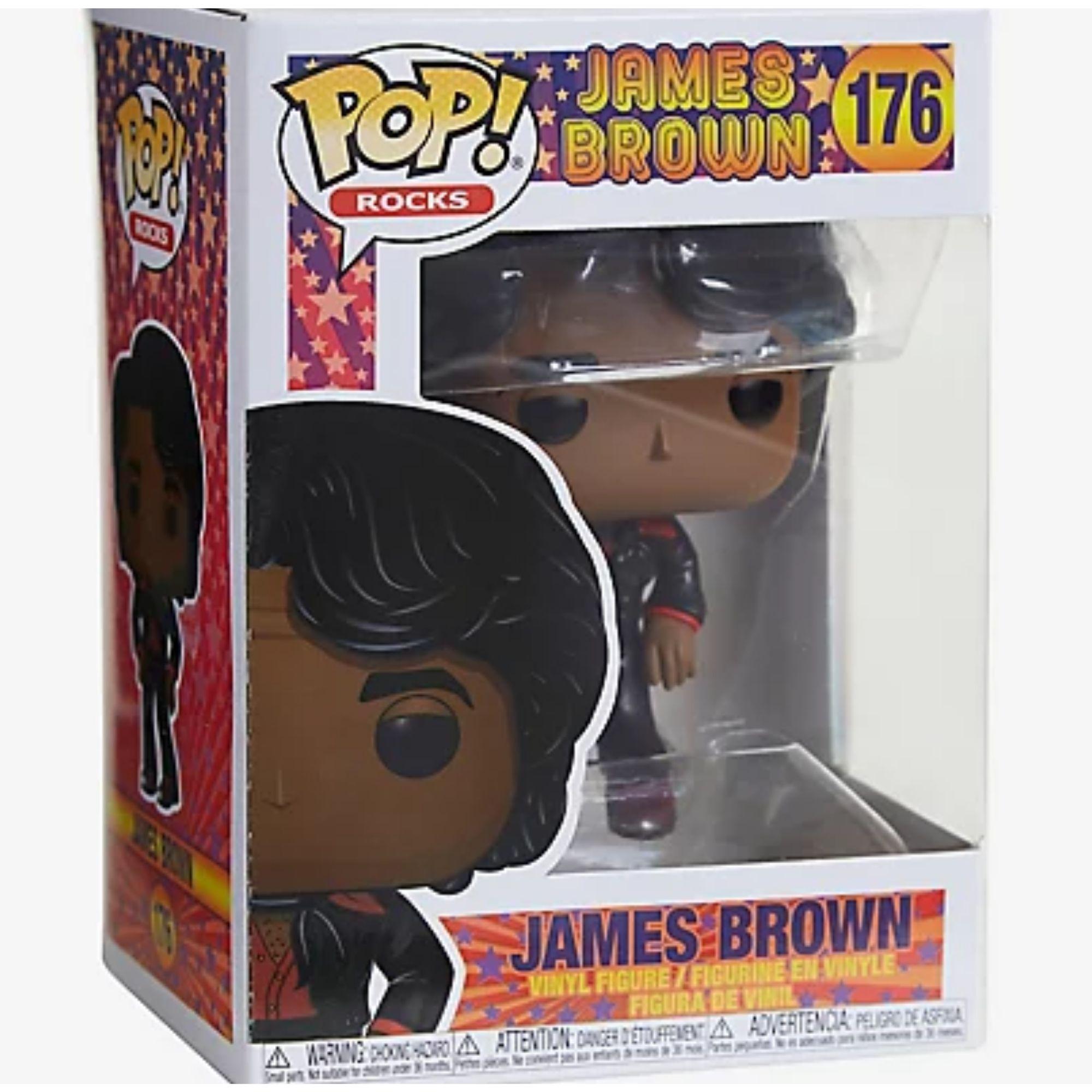 James Brown Boneco Funko Pop #176  - Game Land Brinquedos