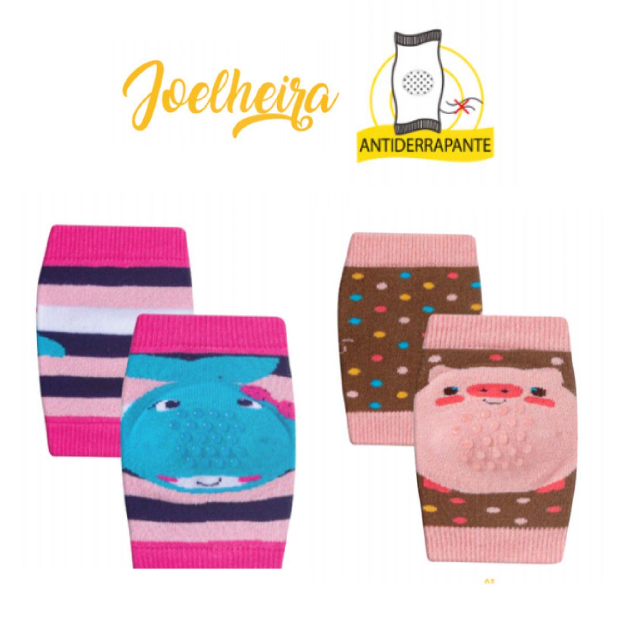 Kit 2 Joelheiras Infantis Proteção para engatinhar do Bebê Meninas  - Game Land Brinquedos