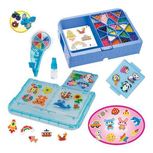 Kit Aquabeads Deluxe Studio + refil Vida Marinha  - Game Land Brinquedos