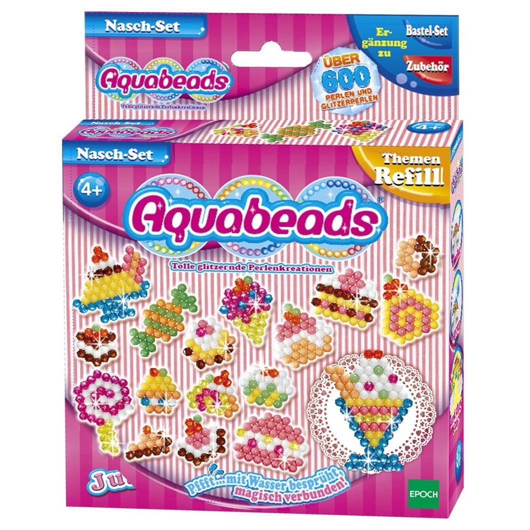 Kit Aquabeads Promoção Meu Primeiro Atelie + Refil Doceria  - Game Land Brinquedos