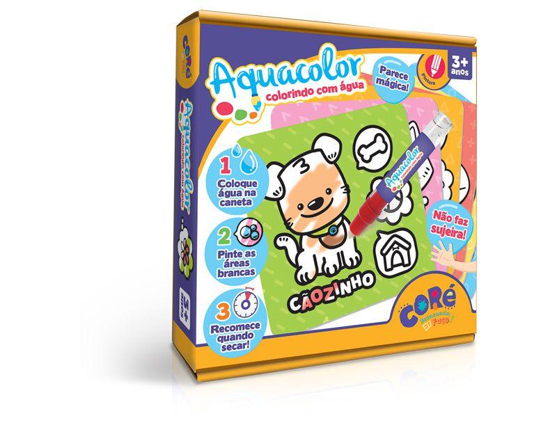 Kit Atividades Aquacolor Colorindo com Agua   - Game Land Brinquedos
