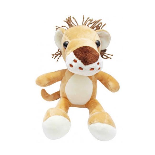 Kit Bichos de Pelúcia Safari Girafa Leão Leopardo Tigre   - Game Land Brinquedos