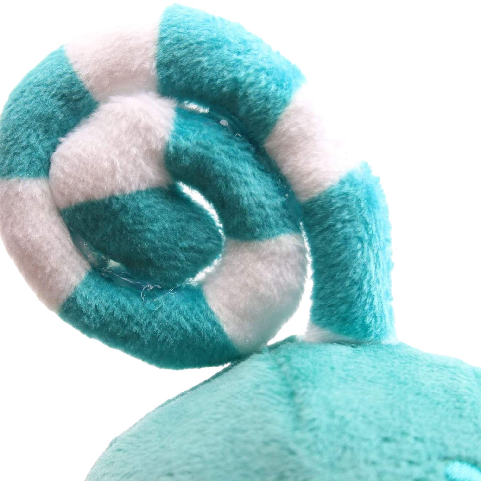 Kit com 2 Bonecos de Pelúcia Oddbods - 1 Verde e 1 Azul  - Game Land Brinquedos