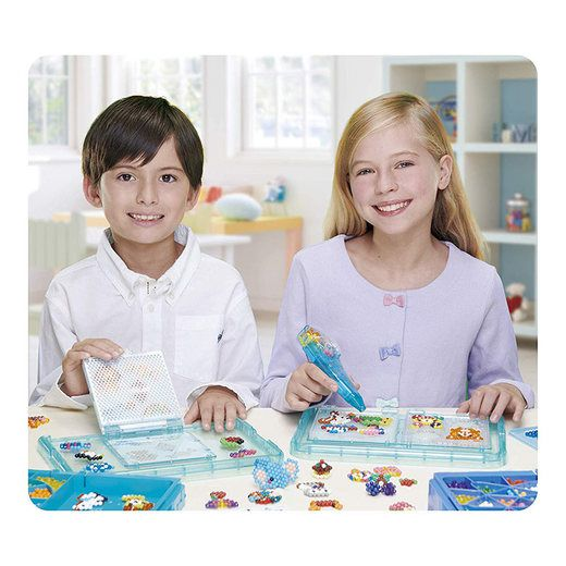Kit Combo Aquabeads Caixa Safari + Conjunto Doceria  - Game Land Brinquedos
