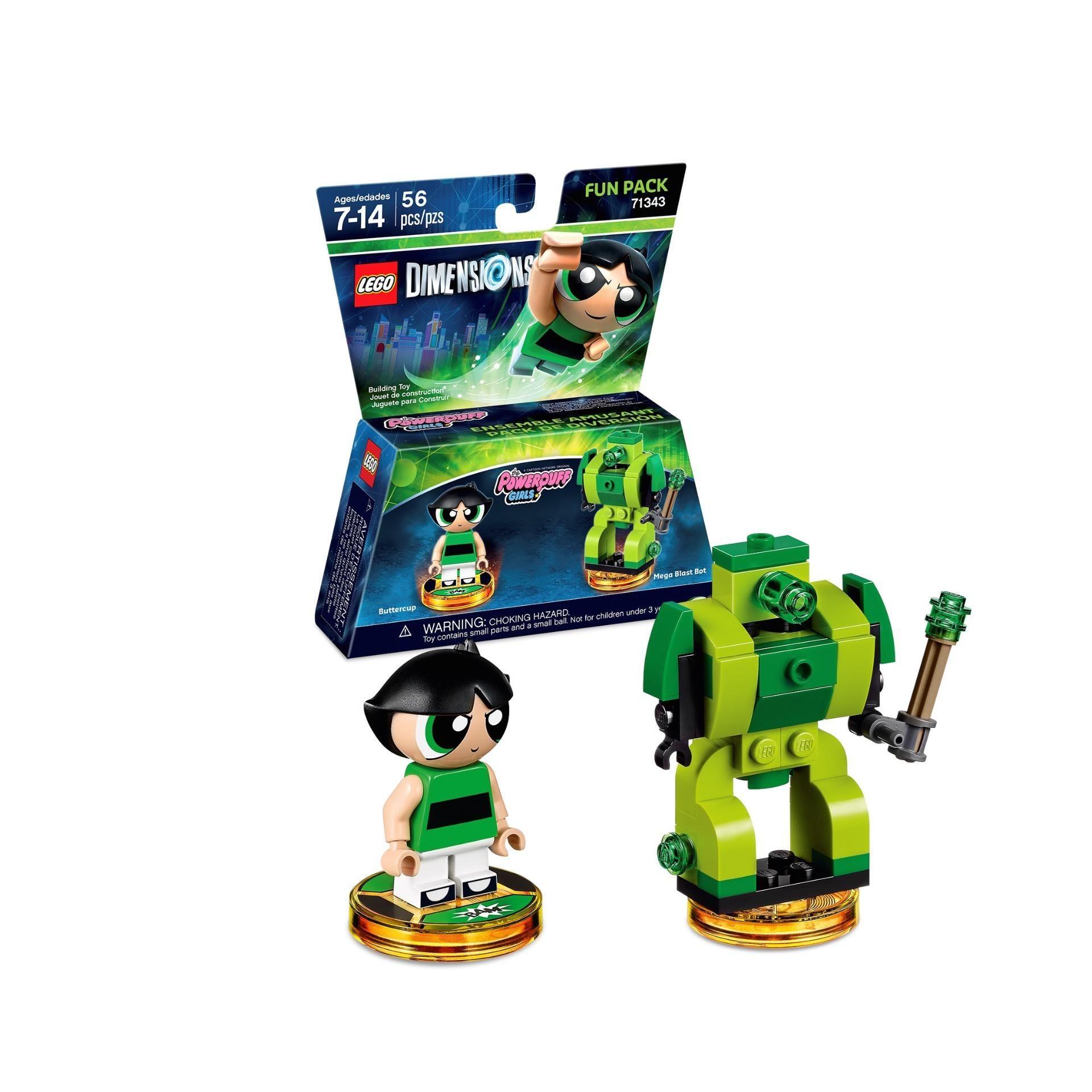 Lego Dimensions 71343 Meninas Super Poderosas  - Game Land Brinquedos