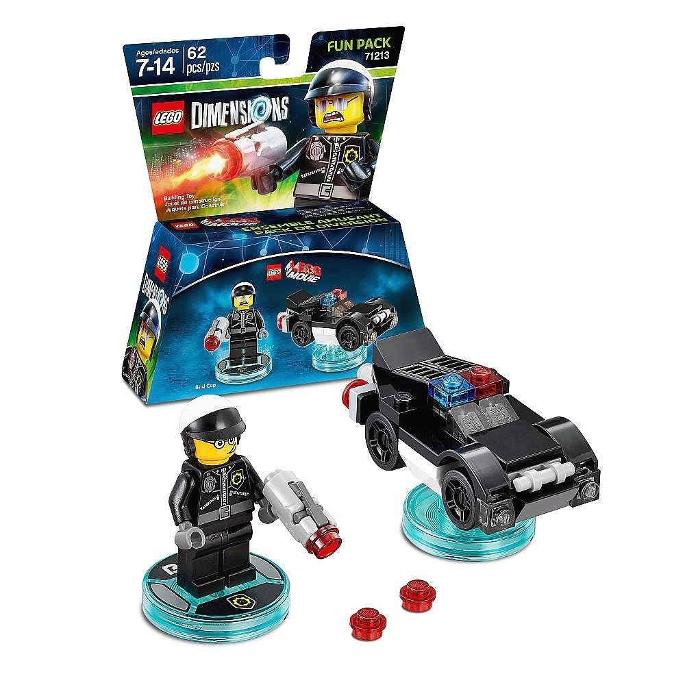 Lego Dimensions Bad Cop Lego 71213  - Game Land Brinquedos