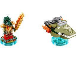 Lego Dimensions Chima Fun Pack 71223  - Game Land Brinquedos