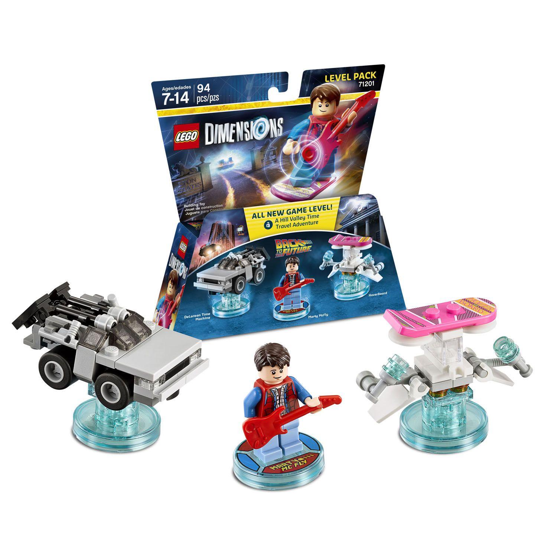 Lego Dimensions De Volta Para O Futuro - 71201  - Game Land Brinquedos