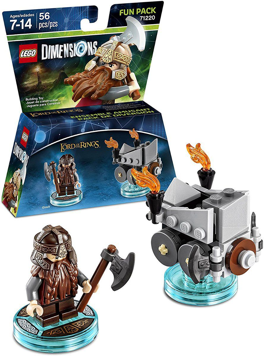 Lego Dimensions Fun Pack Lord of the Rings 71220  - Game Land Brinquedos