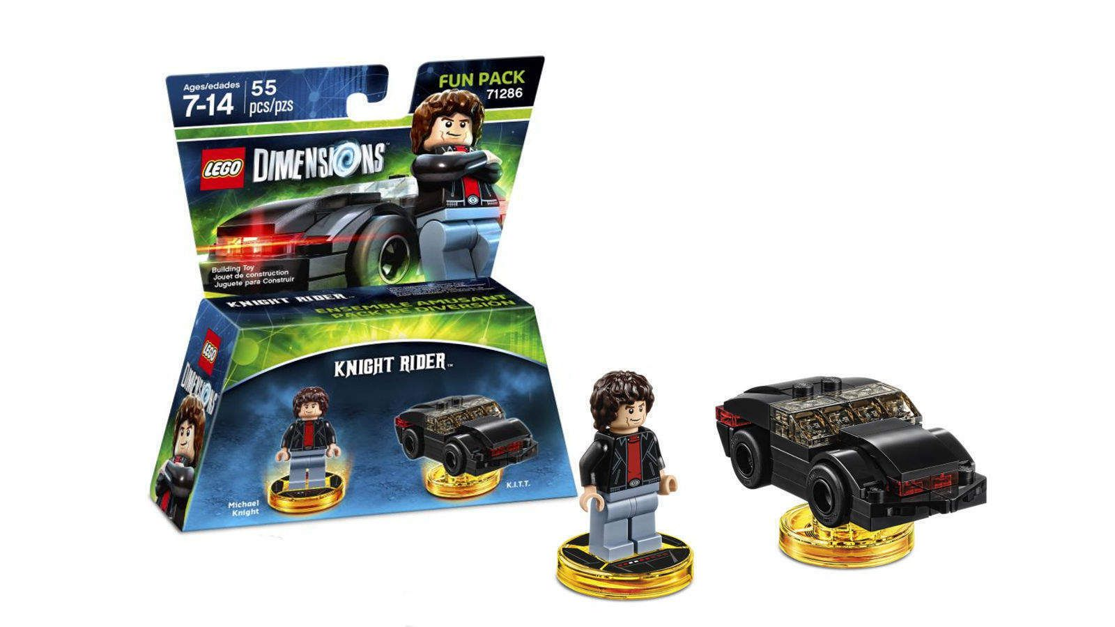 Lego Dimensions Knight Rider - 71286  - Game Land Brinquedos