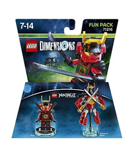 Lego Dimensions Ninjago Fun Pack 71216  - Game Land Brinquedos