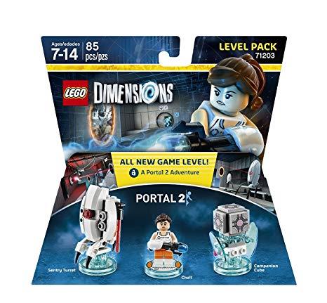 Lego Dimensions  Portal 2 - 71203 Original Novo  - Game Land Brinquedos