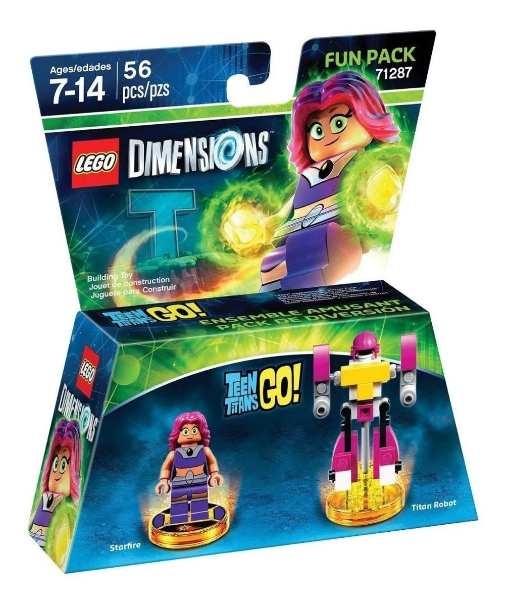 Lego Dimensions Teen Titans Starfire 71287  - Game Land Brinquedos
