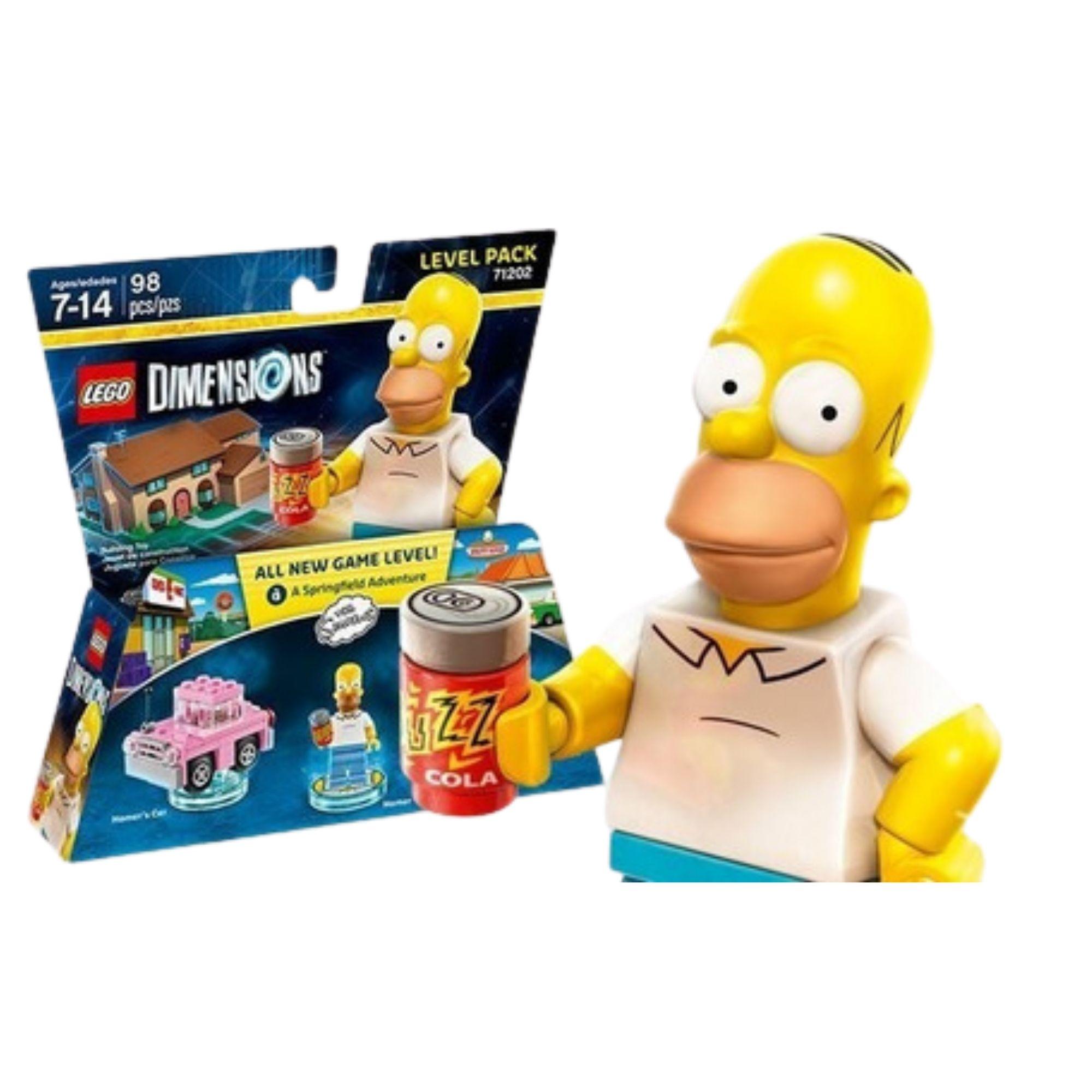Lego Dimensions The Simpsons - 71202 - 98 Peças  - Game Land Brinquedos