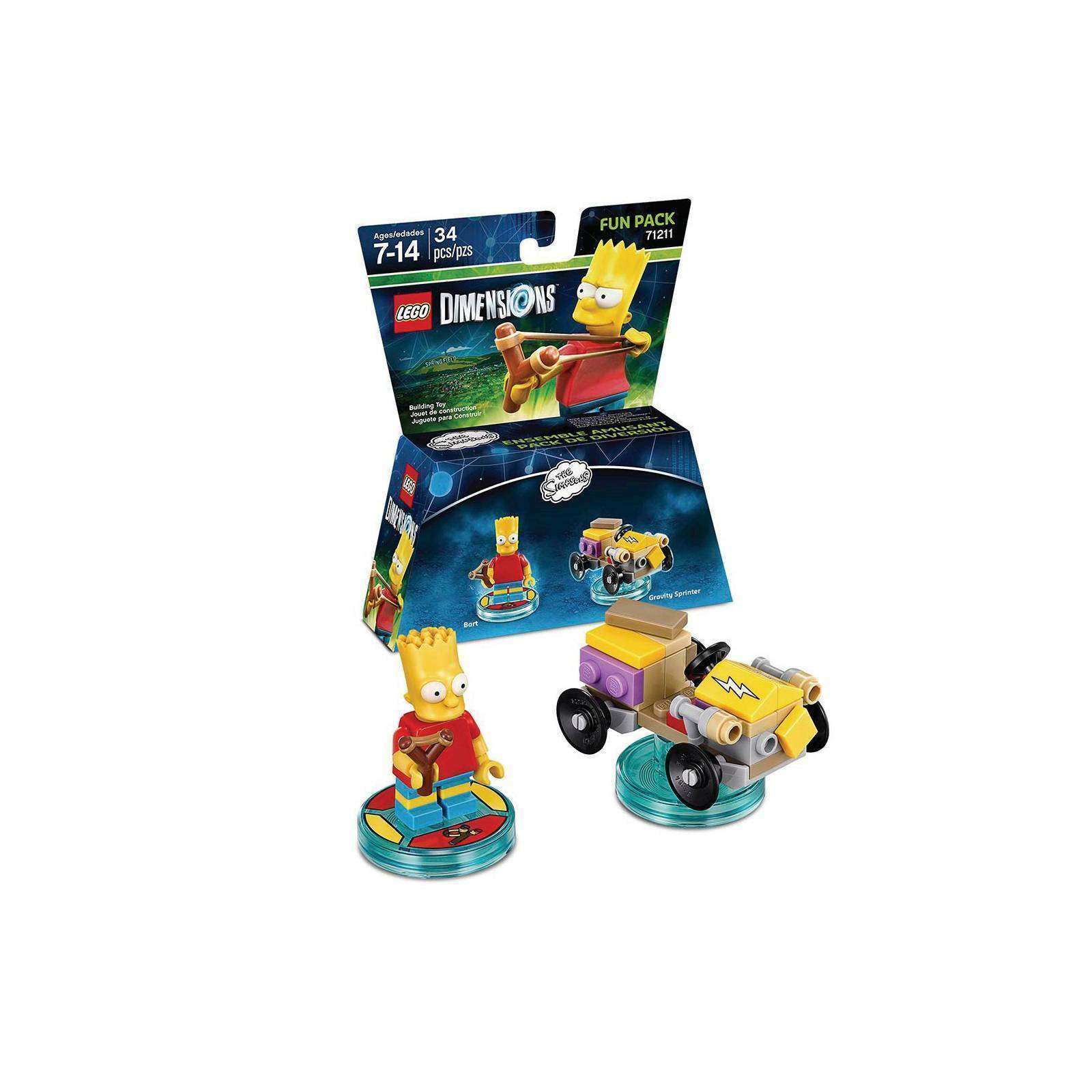 Lego Dimensions The Simpsons 71211   - Game Land Brinquedos