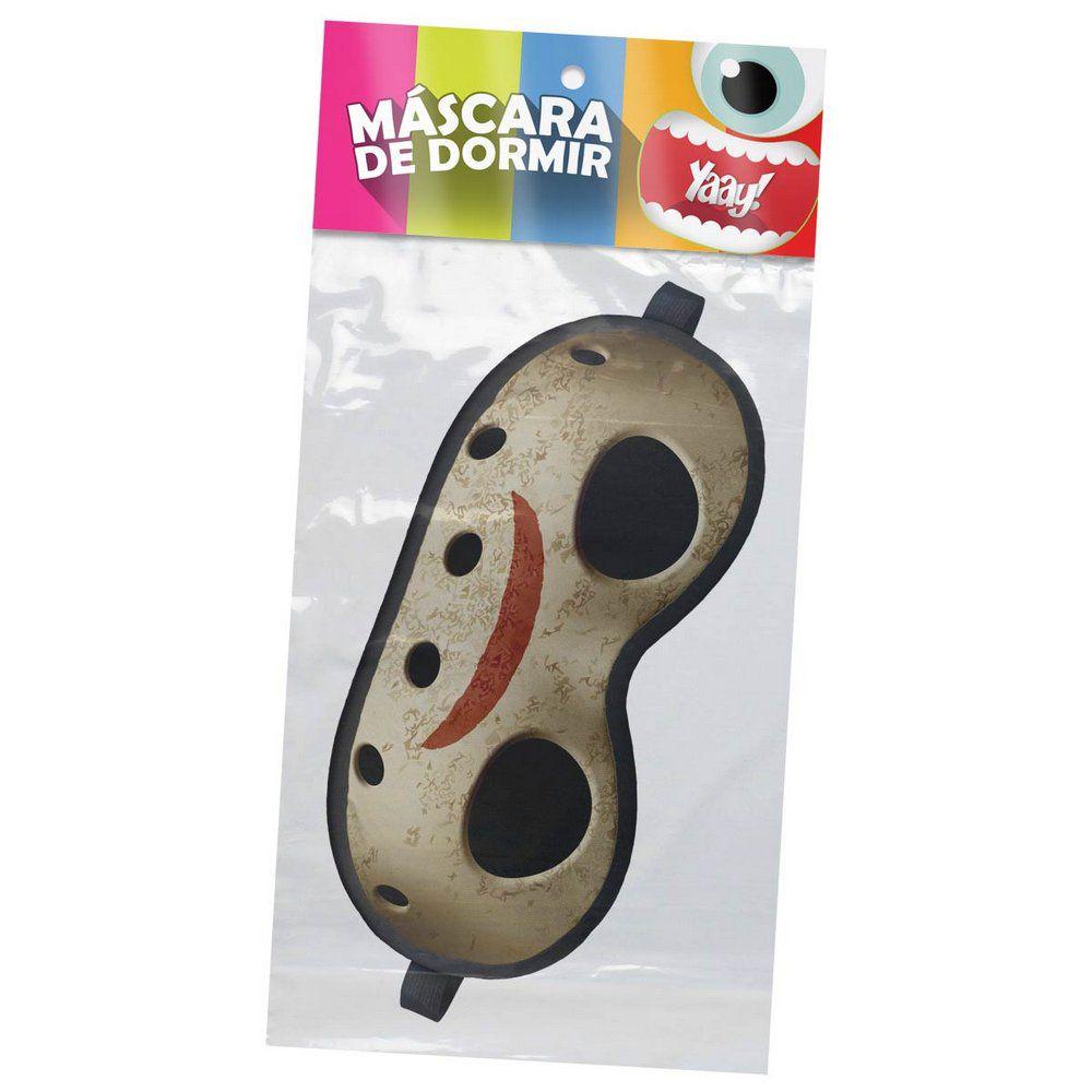 Mascara de Dormir Descanso em Neoprene Jason Sexta Feira 13  - Game Land Brinquedos