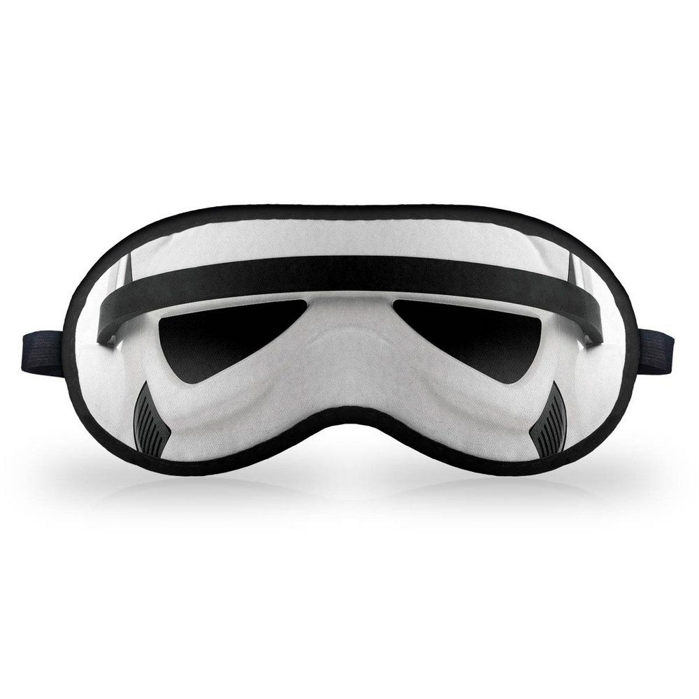 Mascara de Dormir Descanso em Neoprene Trooper Star Wars  - Game Land Brinquedos