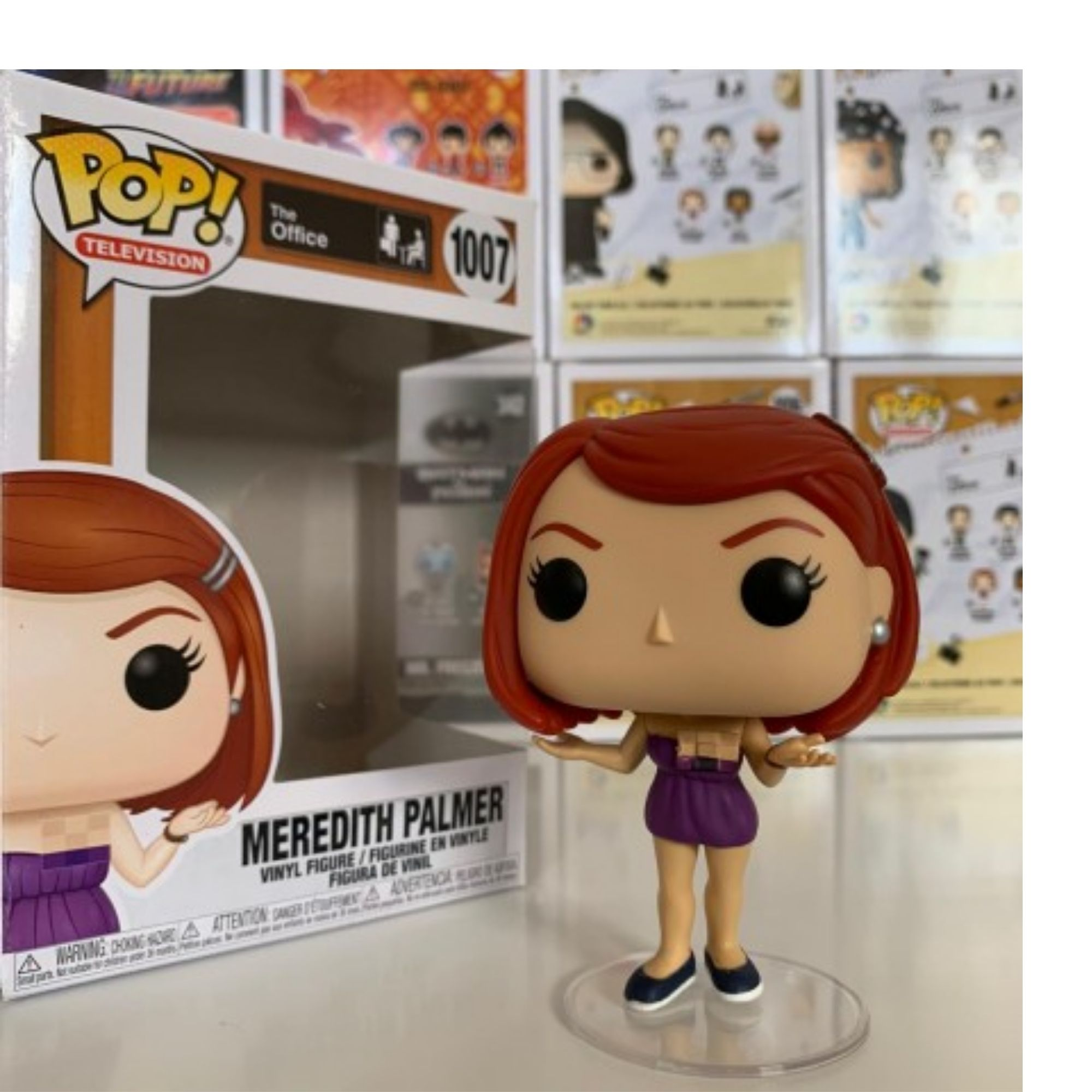 Meredith Palmer The Office Funko Pop #1007  - Game Land Brinquedos