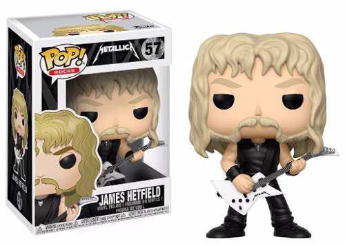 Metallica Funko Pop Rocks James Hetfield  - Game Land Brinquedos