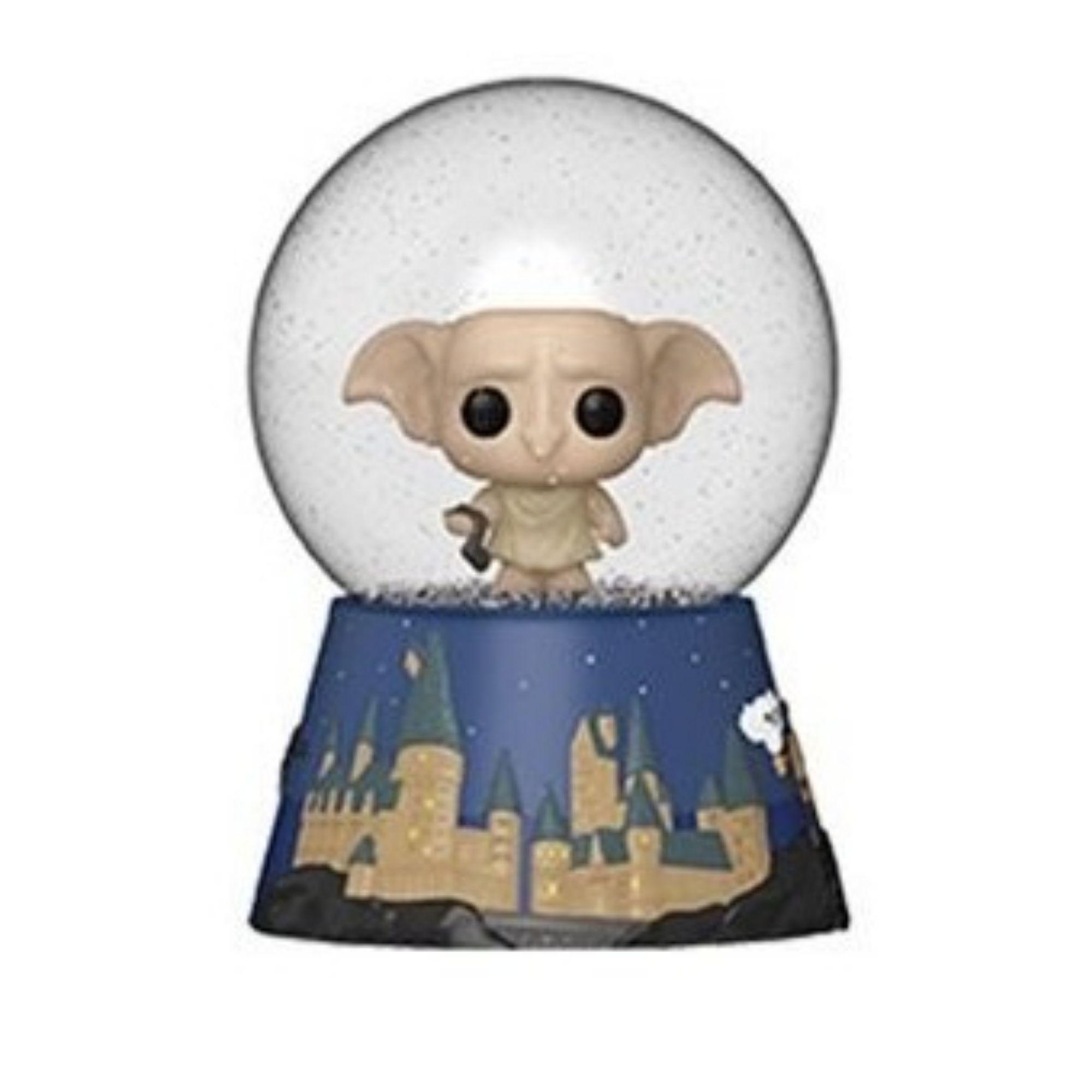 Mini Mystery Funko Snow Globe Harry Potter Dobby  - Game Land Brinquedos