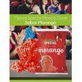 Mistura Para Pipoca Gourmet Doce Sabor Morango - 1 kilo  - Game Land Brinquedos