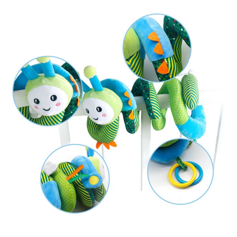 Móbile Chocalho Espiral para Bebê Conforto, Carrinho e Berço  - Game Land Brinquedos