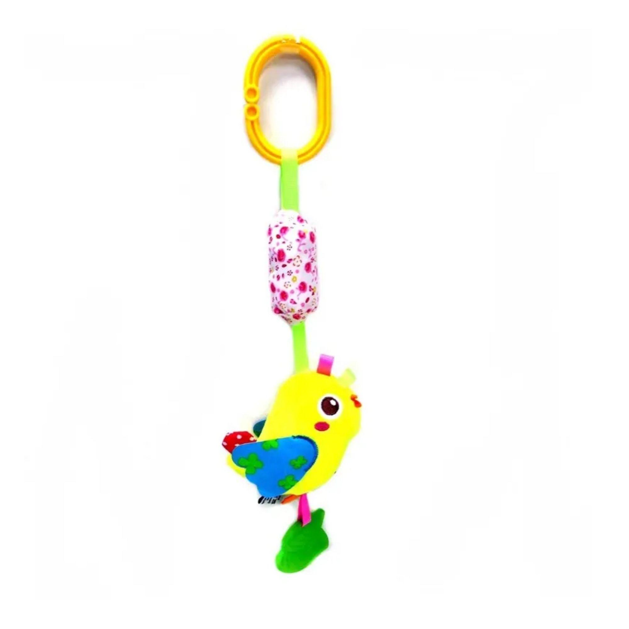 Móbile Chocalho Mordedor Passarinho Love com Atividades  - Game Land Brinquedos