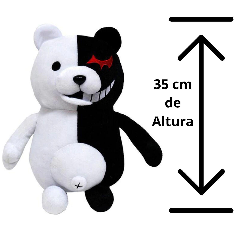 Monokuma Bicho de Pelucia Dangan Ronpa Grande 35 cm  - Game Land Brinquedos