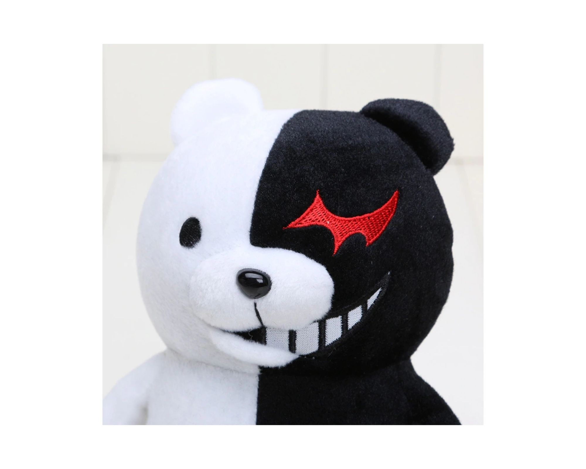 Monokuma Bicho de Pelucia Jogo Dangan Ronpa Urso   - Game Land Brinquedos