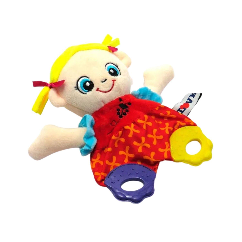 Mordedor com Atividades Bonequinha  - Game Land Brinquedos