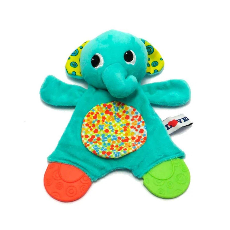Mordedor com Atividades Elefante  - Game Land Brinquedos