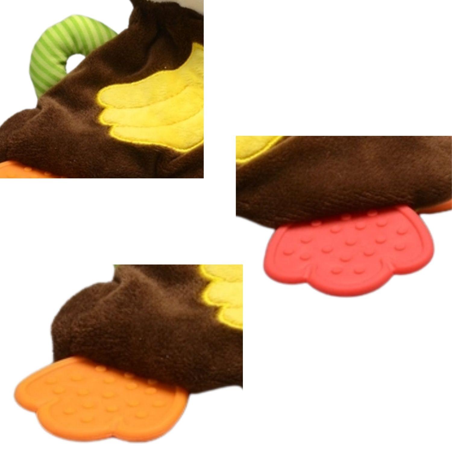Mordedor com Atividades Macaco  - Game Land Brinquedos