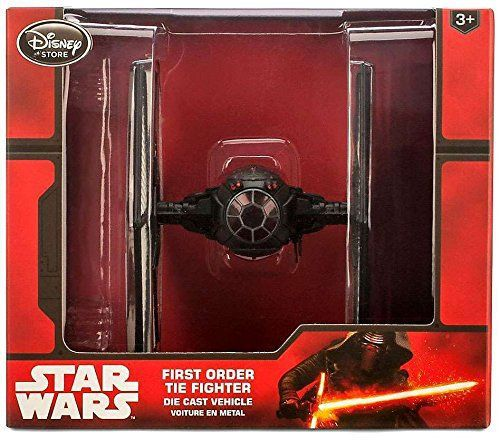 Nave Star Wars First Order Tie Fighter Die Cast Vehicle  - Game Land Brinquedos
