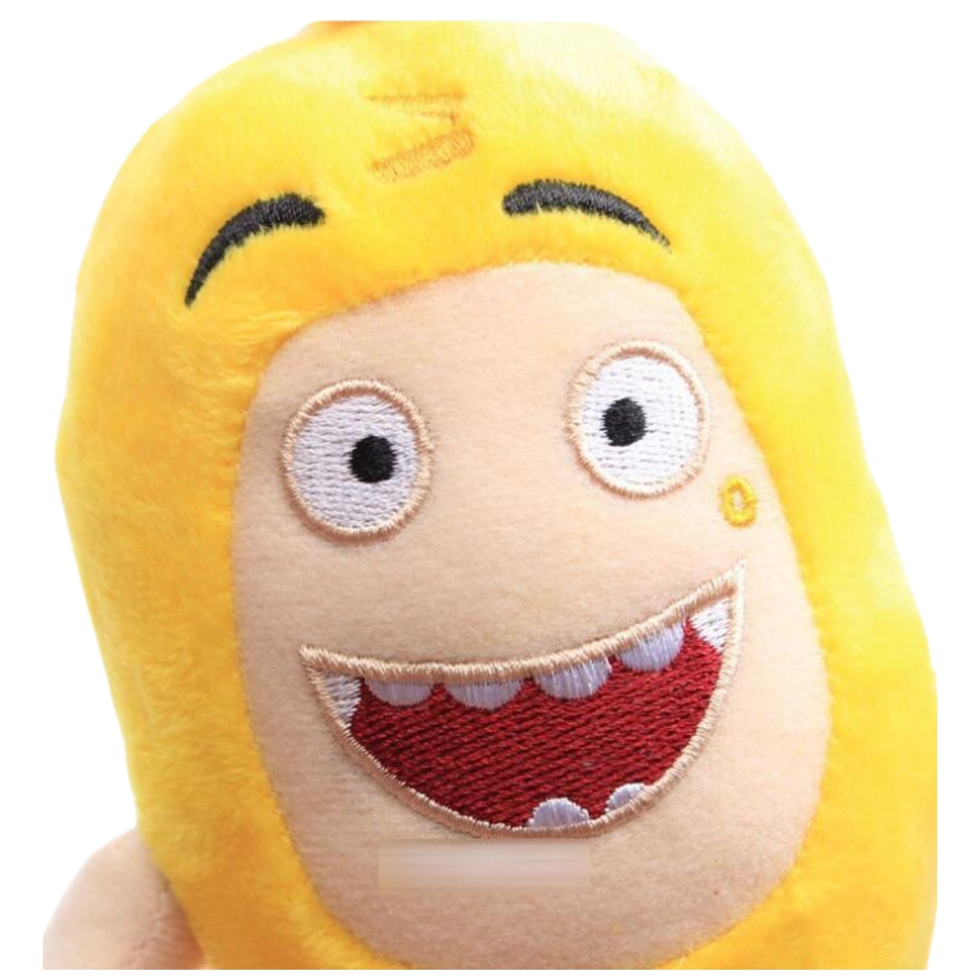 Oddbods Bubbles Boneco de Pelucia Amarelo  - Game Land Brinquedos