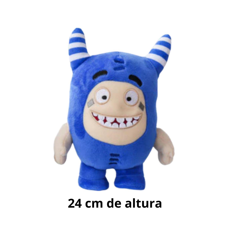 Oddbods Pogo Azul Bicho de Pelucia Tamanho Grande  - Game Land Brinquedos