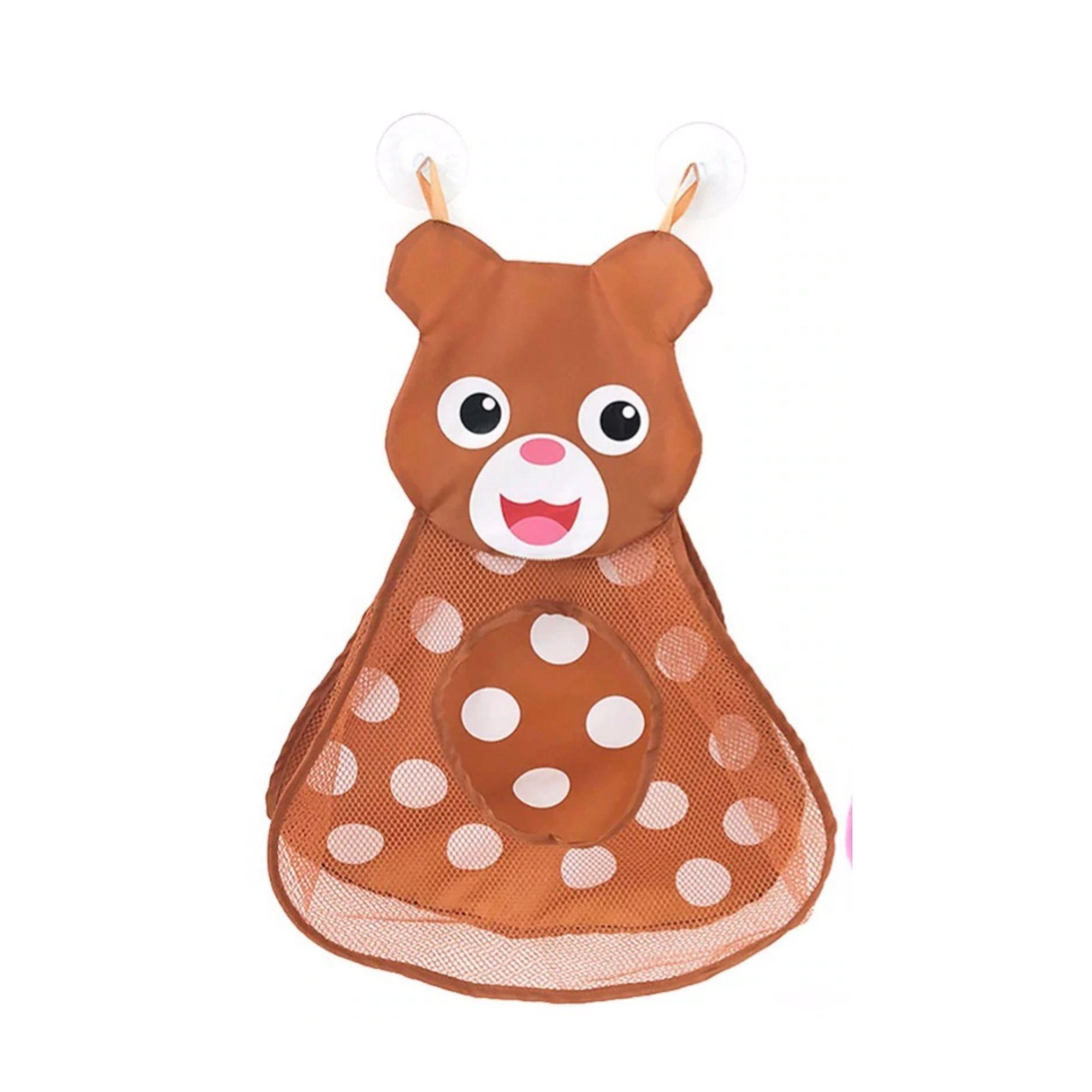 Saco Organizador de Brinquedos de Banho Ursinho Divertido  - Game Land Brinquedos