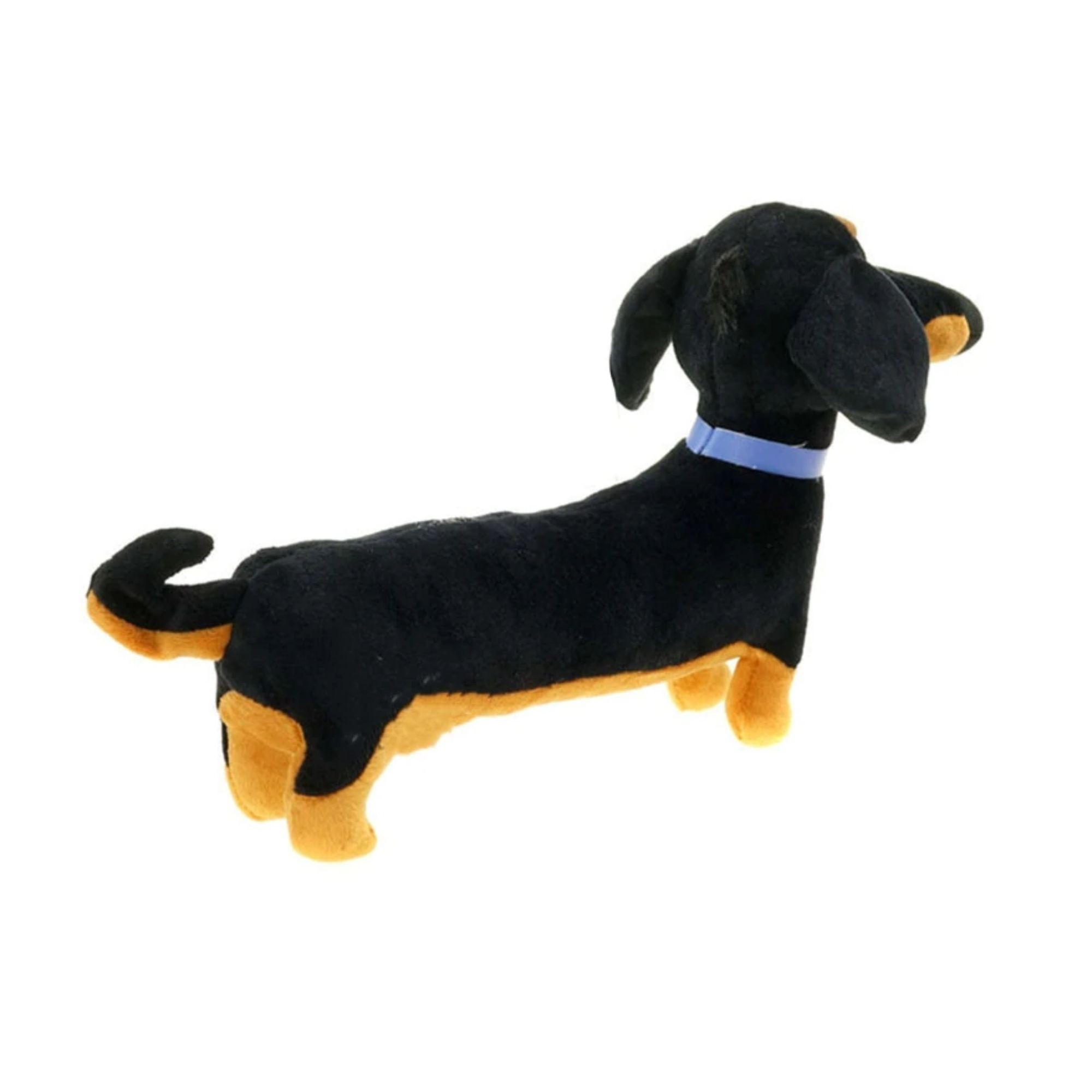 Pelucia Cachorro Salsicha Billy do Filme Pets Fofo 35 cm  - Game Land Brinquedos