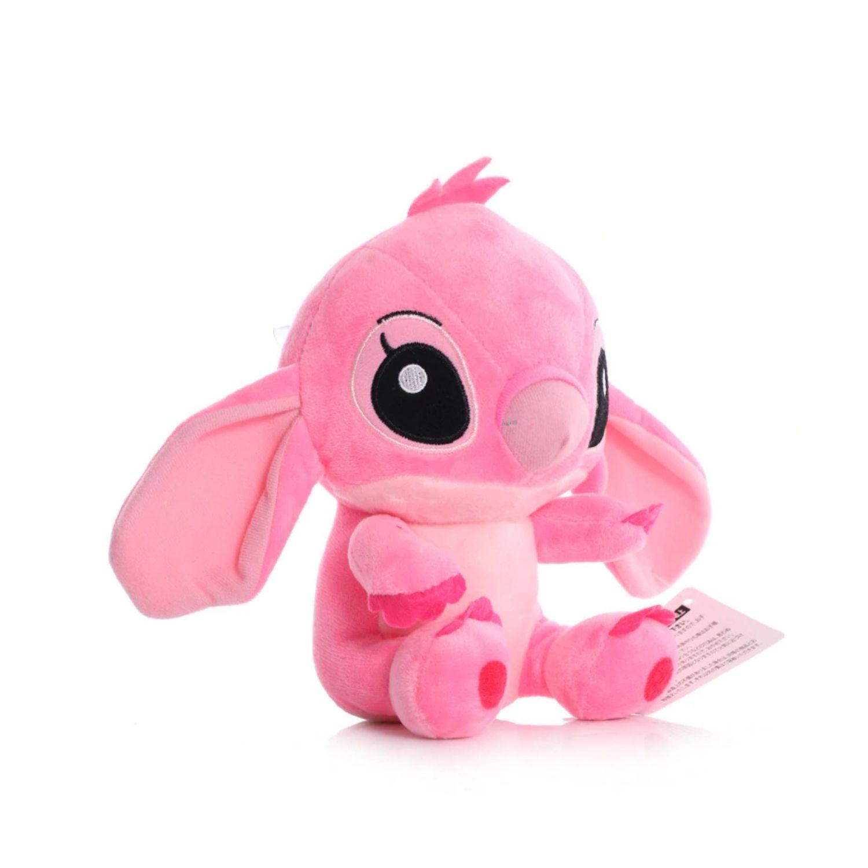 Pelúcia Casal Stitch e Angel Namorados Disney   - Game Land Brinquedos