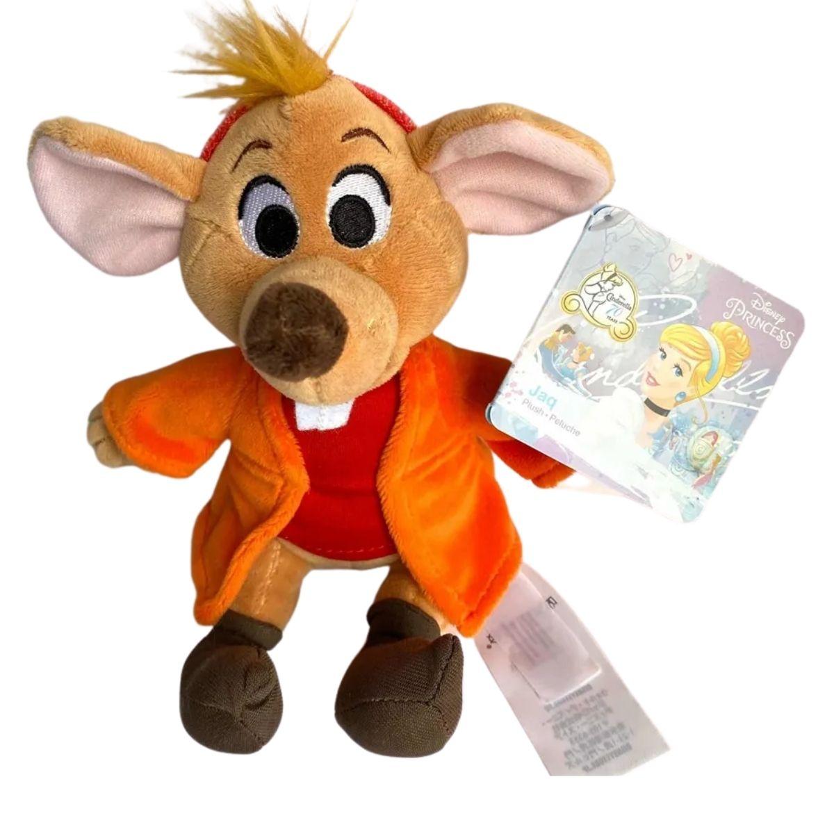 Pelucia Disney Jaq  Ratinho Cinderela 70 anos Edição Limitada Original  - Game Land Brinquedos