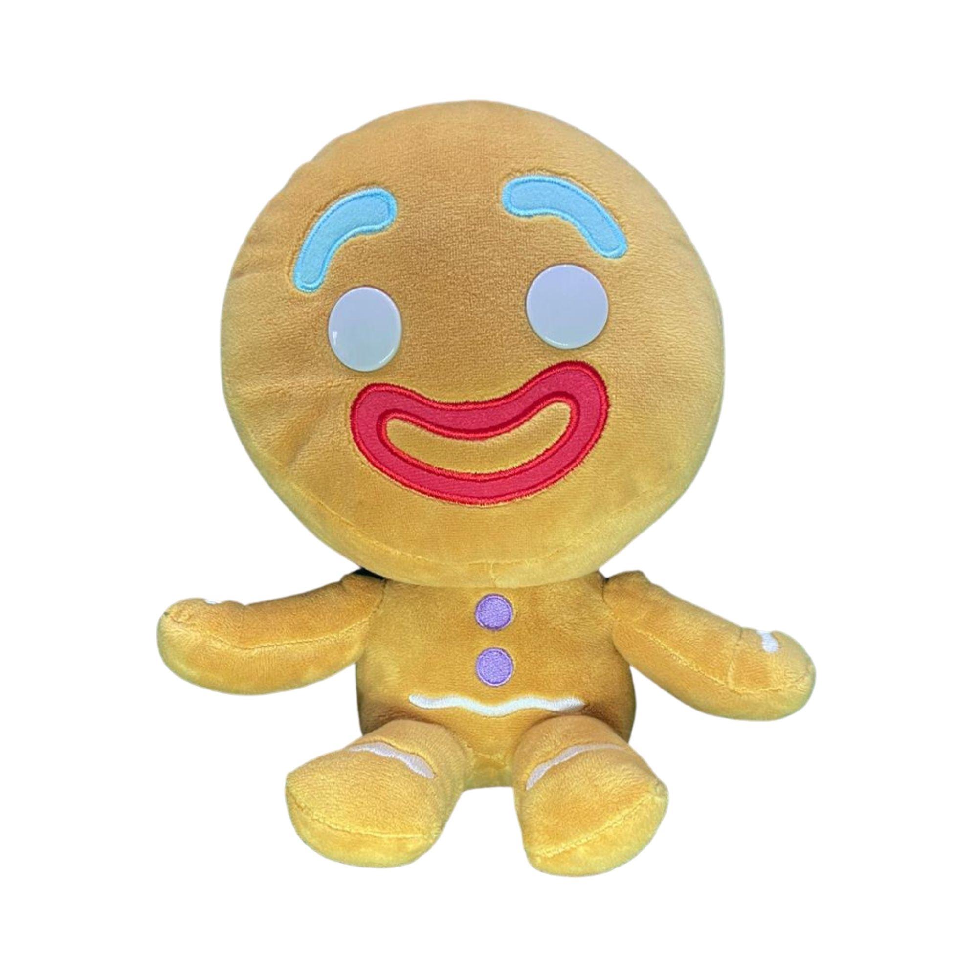 Pelucia Homem Biscoito Boneco Shrek 23 cm Boneco de Doce  - Game Land Brinquedos