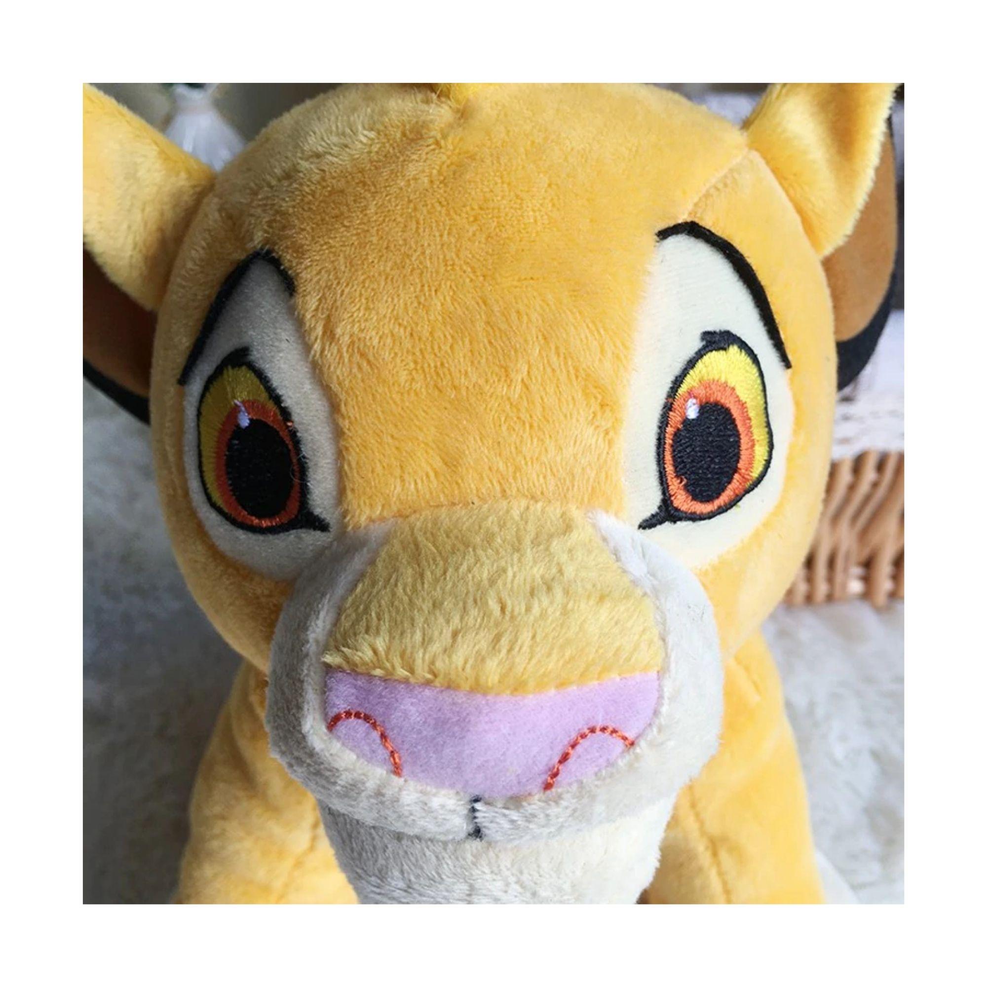 Pelúcia Simba Rei Leão Lion King  - Game Land Brinquedos