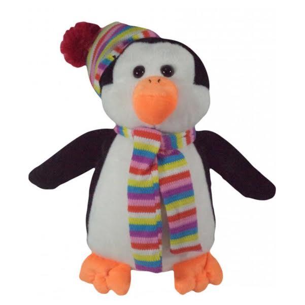 Pinguim Bicho de Pelúcia Antialérgica   - Game Land Brinquedos