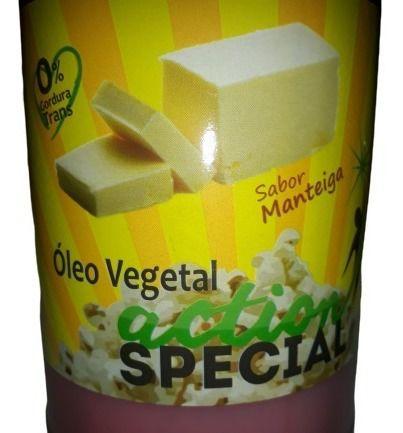 Pipoca de cinema kit oleo sabor manteiga e sal micronizado  - Game Land Brinquedos