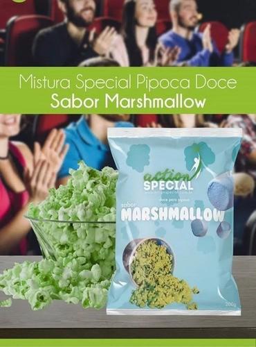Pipoca Gourmet Doce Mistura Sabor Marshmallow 1 Kilo  - Game Land Brinquedos