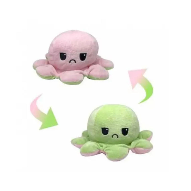 Polvinho Polvo De Pelúcia Reversível Muito Fofo Flip Flop  - Game Land Brinquedos