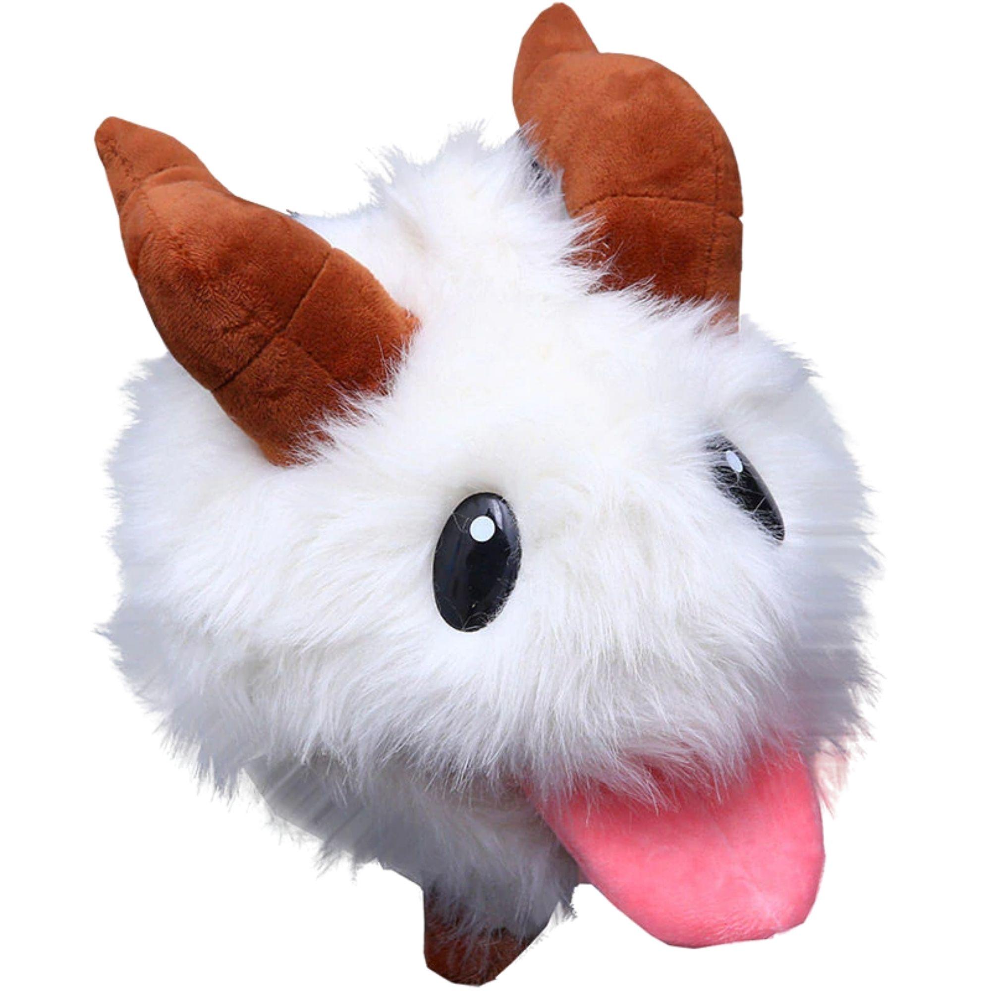 Poro League Of Legends Bicho de Pelucia Plush  - Game Land Brinquedos