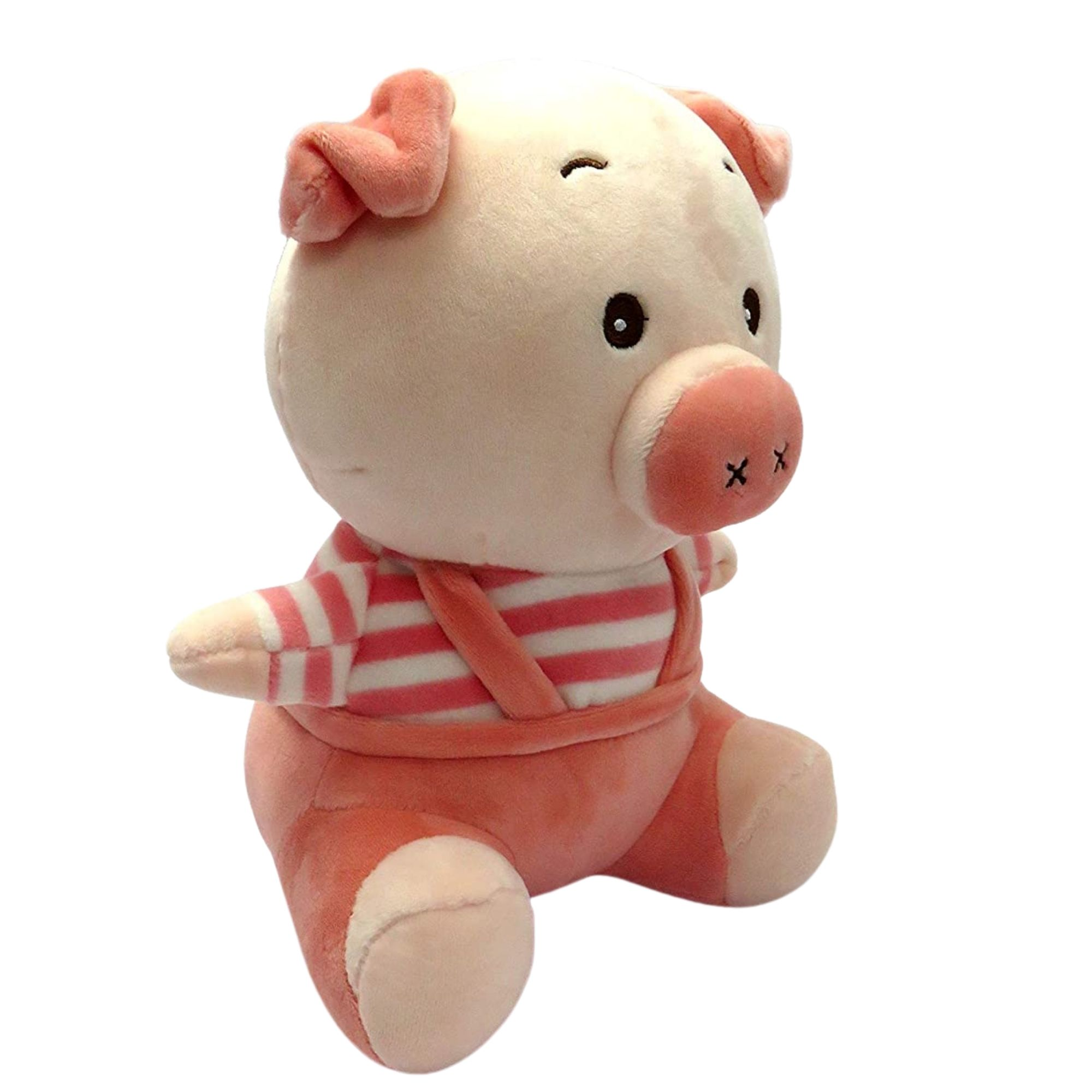 Porquinho Rosa Pelucia para Bebês Love  - Game Land Brinquedos