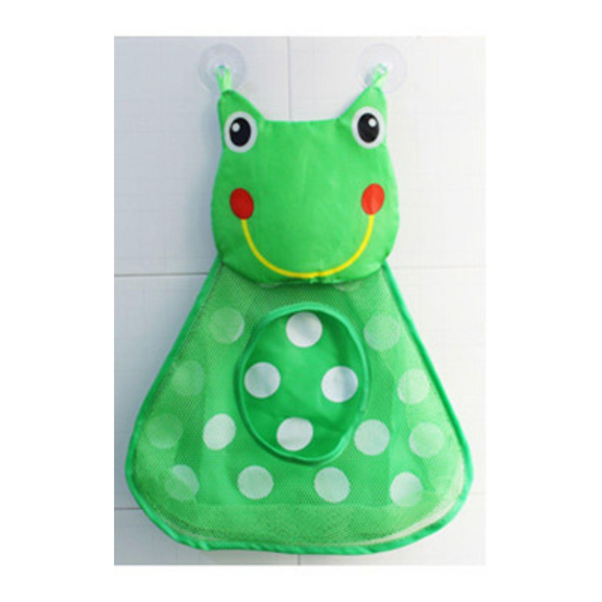 Porta Brinquedos de Banho Sapinho Colorido  - Game Land Brinquedos