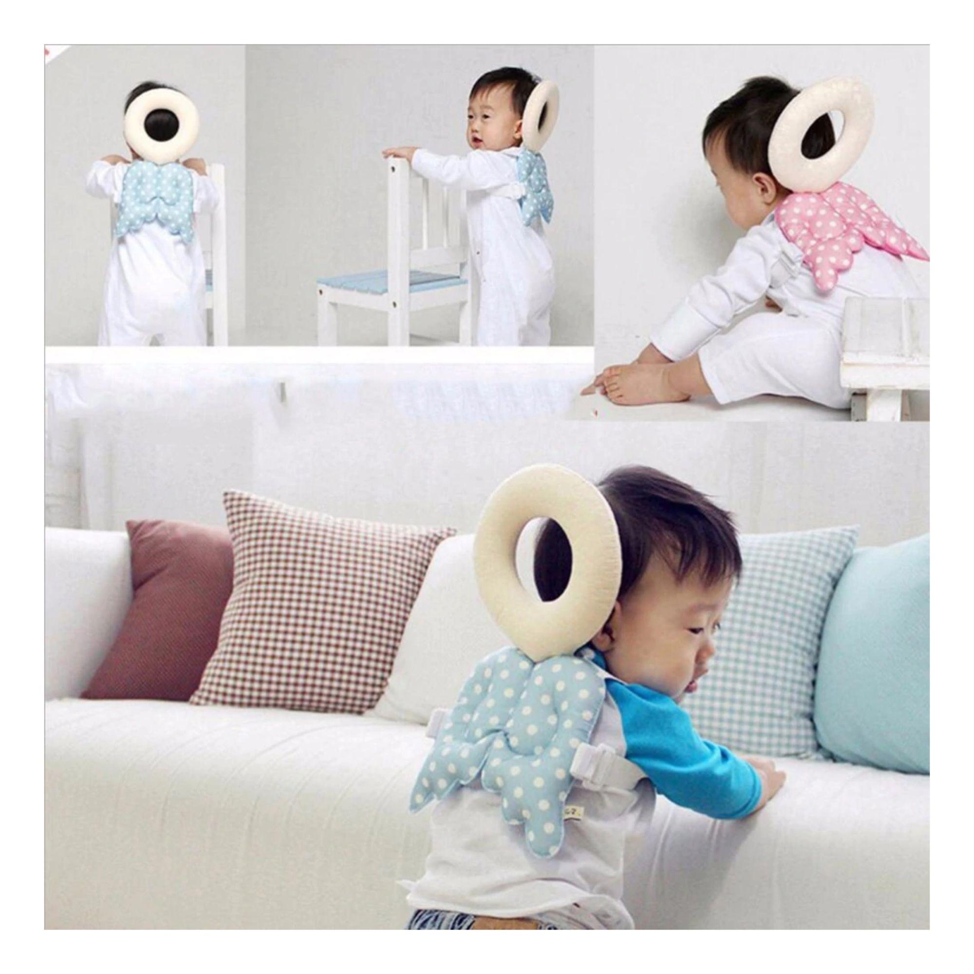 Protetor Bebe para cabeça e costas amortece quedas e colisões  - Game Land Brinquedos